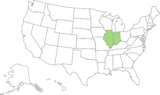 AG Account Manager – Eastern Corn Belt Region Map